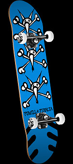 Powell Peralta Vato Rats '15' Complete Skateboard Assembly Blue - 8 x 32.125