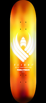 Powell Peralta Flight® Skateboard Deck Glow Gold - Shape 249 - 8.5 x 32.08