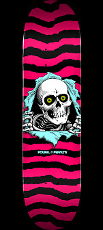 Powell Peralta Ripper Skateboard Deck Hot Pink - Shape 242 - 8 x 31.45