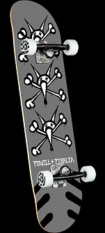 Powell Peralta Vato Rats Silver Complete Skateboard - 8 x 31.45