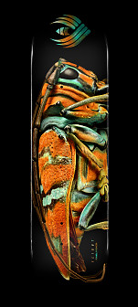 Powell Peralta Flight® Skateboard Deck Jewel Beetle - Shape 246 - 9 x 32.95
