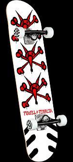 Powell Peralta Vato Rats White Birch Complete Skateboard - 8.25 x 31.95