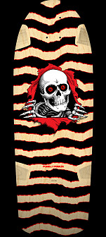 Powell Peralta OG Ripper Skateboard Deck Natural - 10 x 30 - Limit one per Customer - Limit one per Customer