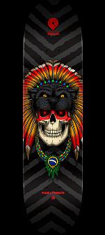 Powell Peralta Pro Kelvin Hoefler Skull 2 Skateboard Deck - Shape 247 - 8 x 31.45
