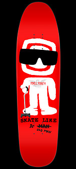 Powell Peralta Skateboard Deck Funshape Slaom - 8.4 x 31.5