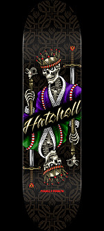 Powell Peralta Ben Hatchell King Flight® Skateboard Deck - Shape 249 - 8.5 x 32.08
