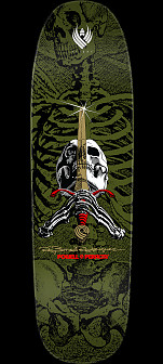 Powell Peralta Skull and Sword Flight® Skateboard Deck 2 - 9.265 x 32