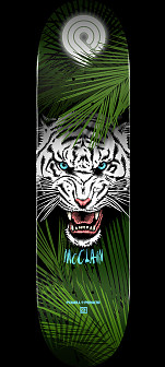 Powell Peralta Pro Brad McClain Tiger 2 Skateboard Deck - Shape 242 - 8 x 31.45
