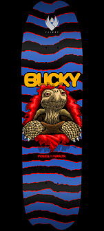 Powell Peralta Pro Bucky Lasek Tortoise Flight® Skateboard Deck - Shape 297 - 8.62