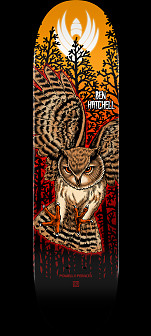 Powell Peralta Pro Ben Hatchell Owl 2 Flight® Skateboard Deck - Shape 249 - 8.5 x 32.08