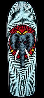 Powell Peralta Steve Steadham GFL Benefit Autographed Skateboard Deck