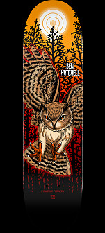 Powell Peralta Pro Ben Hatchell Owl 2 Skateboard Deck - Shape 248 - 8.25 x 31.95