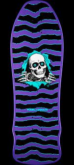 Powell Peralta Ripper GeeGah Skateboard Deck - Purple 9.75 x 30
