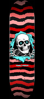Powell Peralta Ripper Skateboard Deck Red 245 K21 - Shape 247 - 8 x 31.45