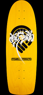 Powell Peralta Jay Smith PPP Splash Skateboard Deck Yellow - 10 x 31