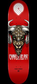 Powell Peralta Pro Charlie Blair Goat Skateboard Deck - Shape 242 - 8 x 31.45