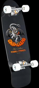 Bones Brigade Caballero Series 4  Skateboard Complete Black- 10 x 30