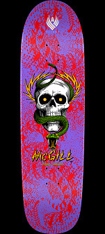 Powell Peralta Pro McGill Skull and Snake 02 Flight® Skateboard Deck - 8.97 x 32.38