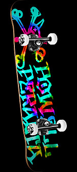 Powell Peralta Vato Rat Tie Dye Assembly 7.5 x 31.375