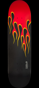 Powell Peralta Hot Rod Flames 11 Skateboard Deck - 8.5 x 33.5