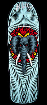 Powell Peralta Mike McGill GFL Benefit Autographed Skateboard Deck - 10 x 30.125