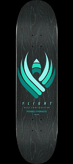 Powell Peralta Flight® Skateboard Deck Black Series - Shape 242 -  8 x 31.45