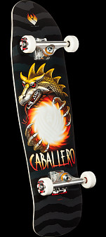 Powell Peralta Caballero Pro Flight Skateboard Assembly - 9 x 31.9