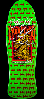 Powell Peralta Steve Caballero GFL Benefit Autographed Skateboard Deck
