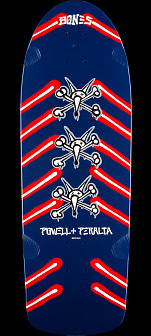 Powell Peralta OG Rat Bones Skateboard Deck NAVY-  10 x 30