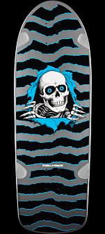 Powell Peralta OG Ripper Skateboard Deck Silver - 10 x 30