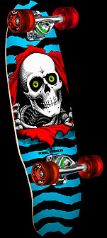 Powell Peralta Mini Ripper Complete Skateboard - 7.75 x 31.08
