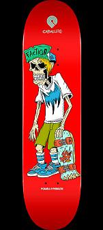Powell Peralta Pro Steve Caballero Faction Skateboard Deck - Shape 243 - 8.25 x 31.95