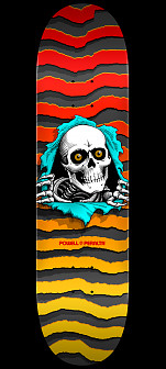 Powell Peralta New School Ripper Blem Skateboard Deck - 8.25 x 32.5