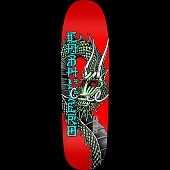 Powell Peralta Caballero Ban This Skateboard Deck Red - 9.265 x 32