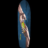 Powell Peralta Skateboard Deck Funshape Hands Navy - 8.4 x 31.5