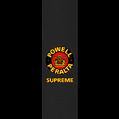 Powell Peralta Grip Tape Sheet 9 x 33 Supreme (Black)