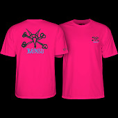 Powell Peralta Rat Bones YOUTH T-shirt - Pink