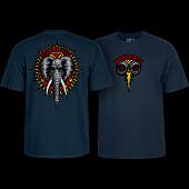 Powell Peralta Vallely Elephant T-shirt Navy