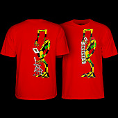 Powell Peralta Ray Barbee Rag Doll T-Shirt Red