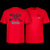 Powell Peralta Rat Bones YOUTH T-shirt - Red