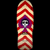 Powell Peralta Steadham Spade Skateboard Deck Red/Nat - 10 x 30.125
