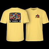 Powell Peralta Bucky Lasek Stadium T-Shirt Banana