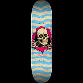 Powell Peralta Ripper Skateboard Blem Deck nat/Blu - 248 K20 - 8.25 x 31.95