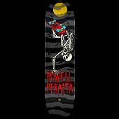 Powell Peralta Handplant Skelly Skateboard Deck Charcoal - Shape 242 - 8 x 31.45