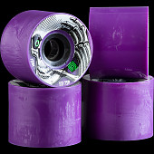 Powell Peralta Kevin Reimer Skateboard Wheels 72mm 75A 4pk purple - Cosmetic blemish