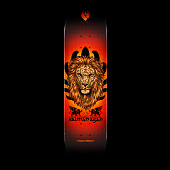 Powell Peralta Flight Salman Agah Lion Skateboard Deck - 8.75 x 32.95