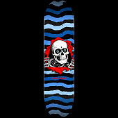 Powell Peralta Ripper Skateboard Deck Blue - Shape 243 - 8.25 x 31.95