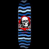 Powell Peralta Ripper Skateboard Deck Blue - Shape 243 - 8.25 x 31.95