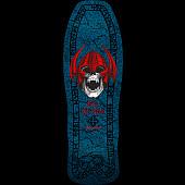 Powell Peralta Welinder Nordic Skull Skateboard Deck Blue - 9.625 x 29.75 - Limit one per Customer