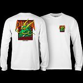 Powell Peralta Caballero Street Dragon L/S Shirt White